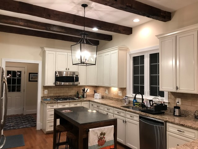 Ceiling Beams Massie - Shenandoah Kitchen & Home | Rustic ...
