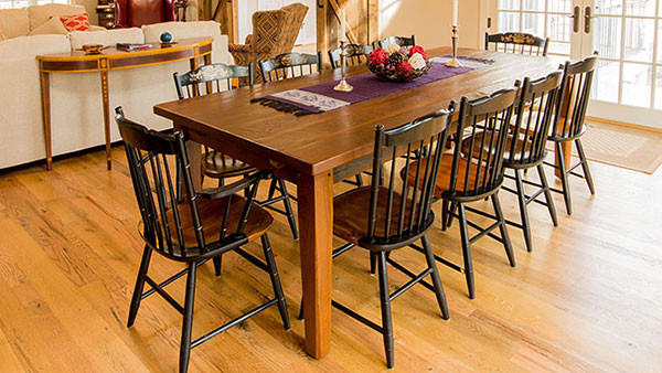 We Craft Our Farmhouse Tables From Only The Finest Reclaimed Wood