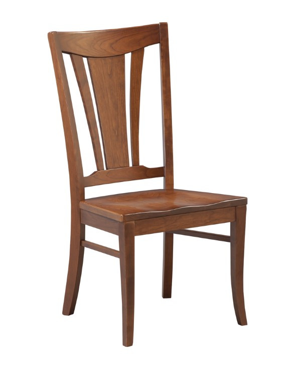 dining-pieces-light natural wood finished park avenue side chair for dining room