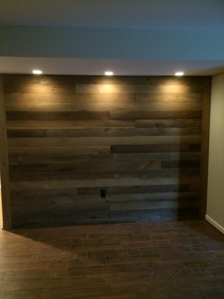 Shiplap Paneling And Reclaimed Wood Trim Shenandoah