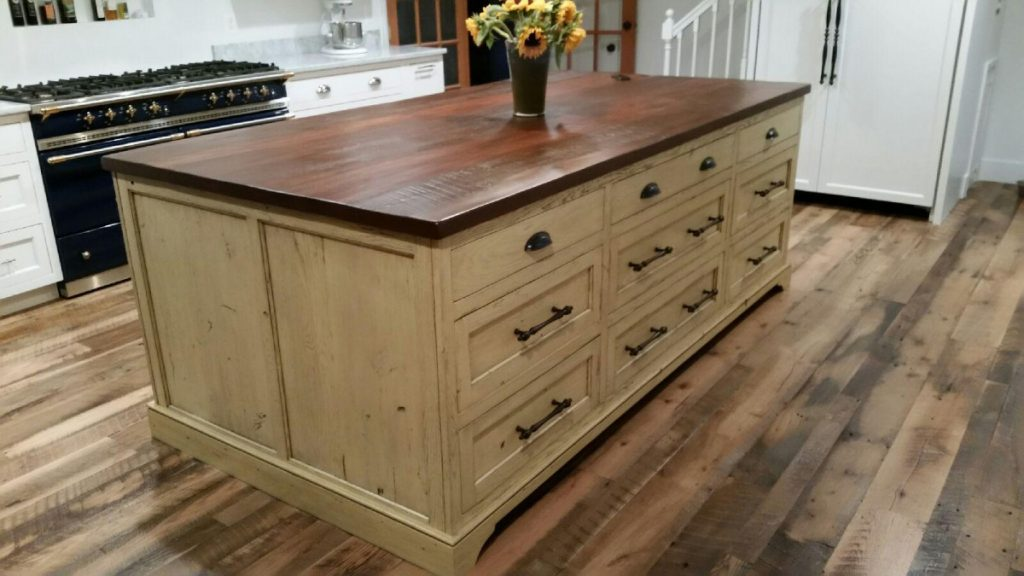 kitchen islands wood custom kitchen islands shenandoah kitchen home rustic farm tables 7774