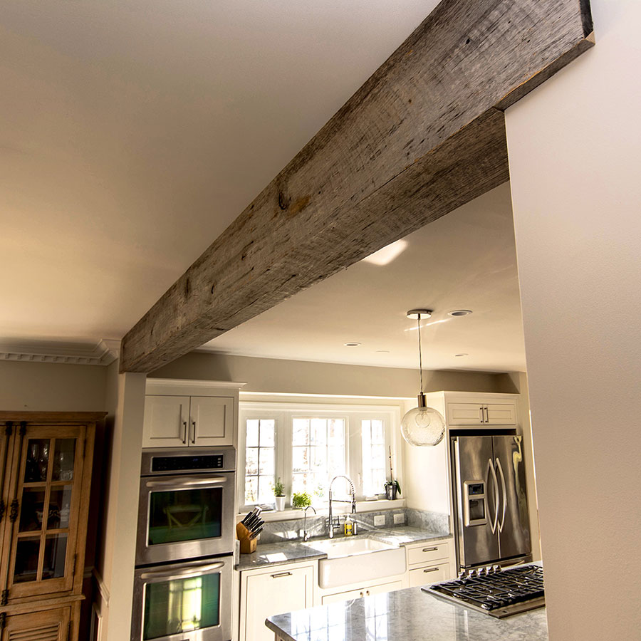 beams mantle shelves made from reclaimed wood. Black Bedroom Furniture Sets. Home Design Ideas