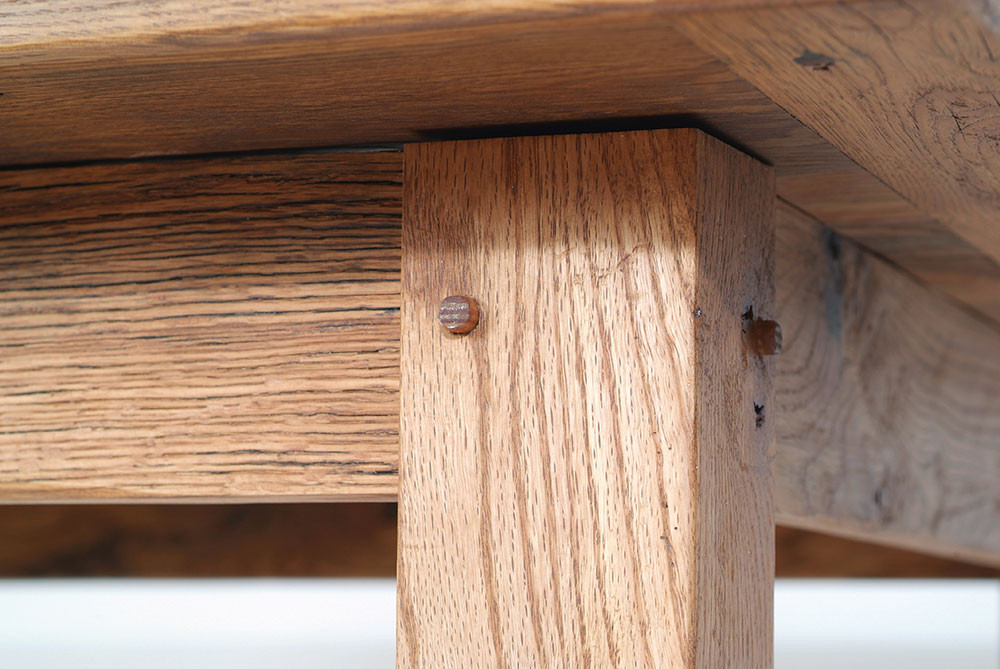 Handcrafted wood furniture in Fairfax County
