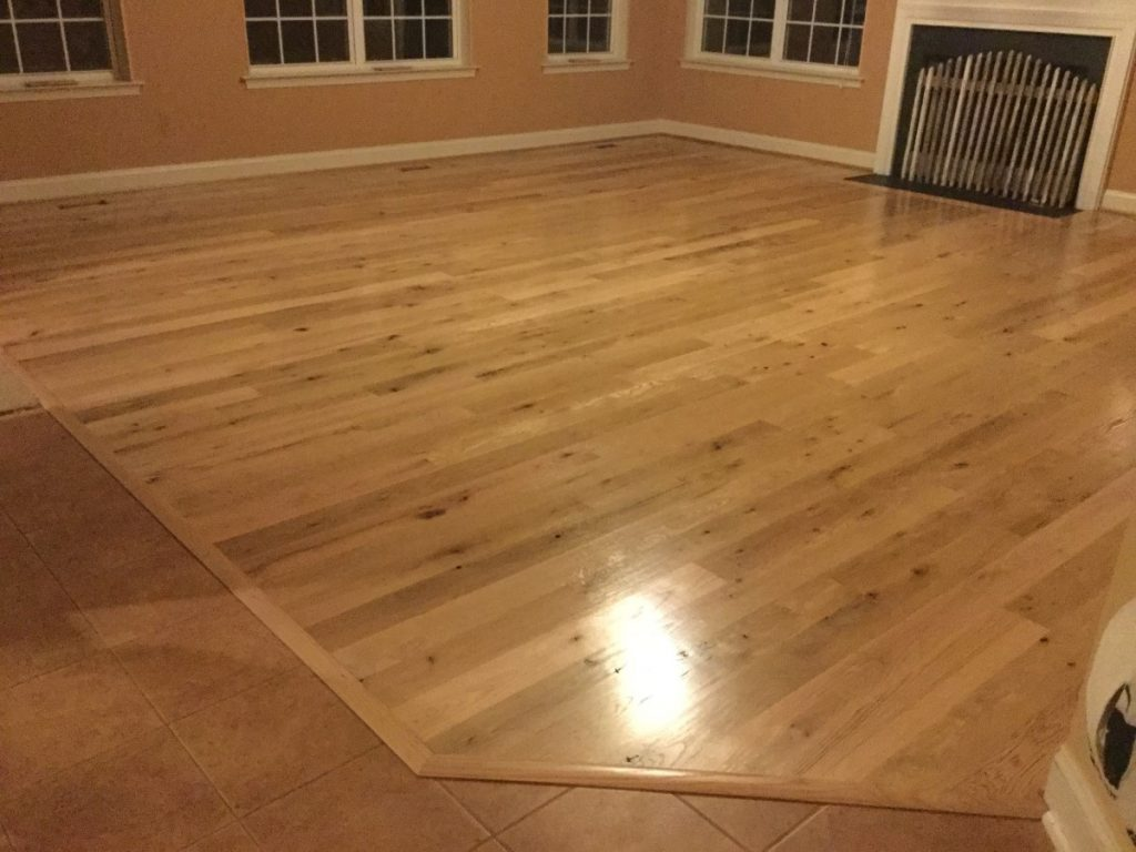 Horse Country Oak Flooring with Clear Finish
