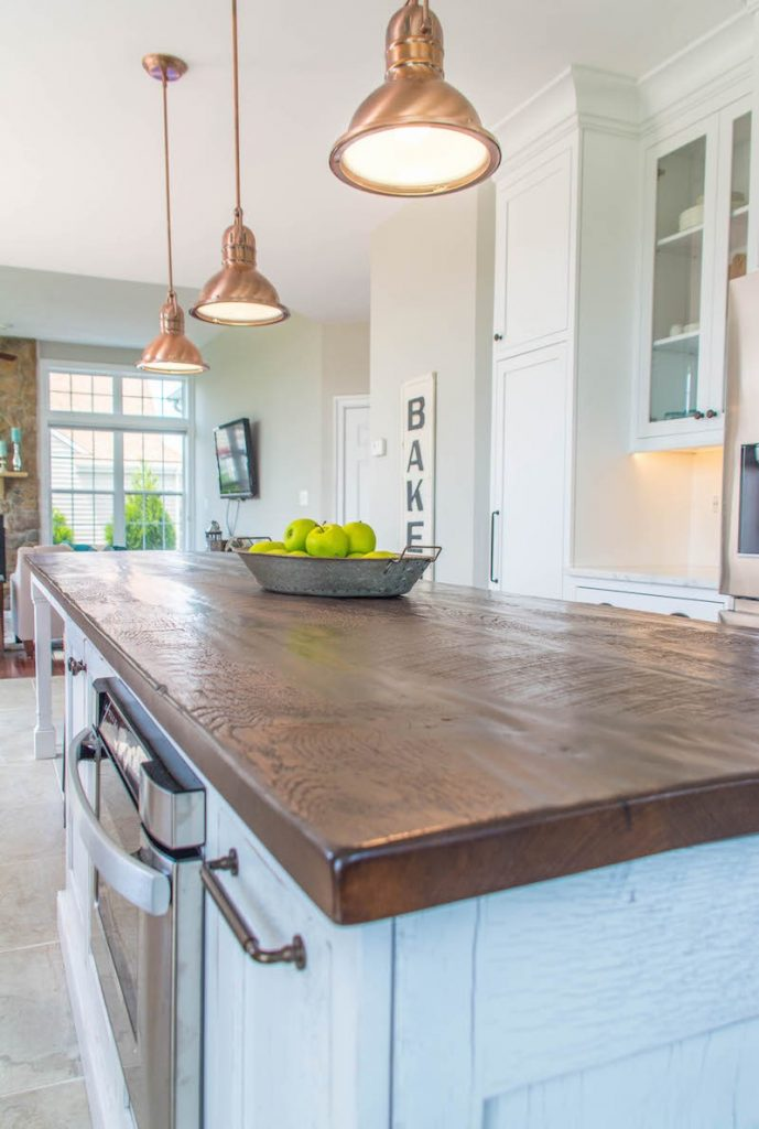 Custom Reclaimed Wood Countertops Shenandoah Kitchen Home Rustic Farm Tables,How To Schedule A Task In Windows Server