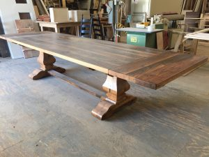 Custom made tables from Shenandoah Kitchen and Home are crafted to your unique specifications.